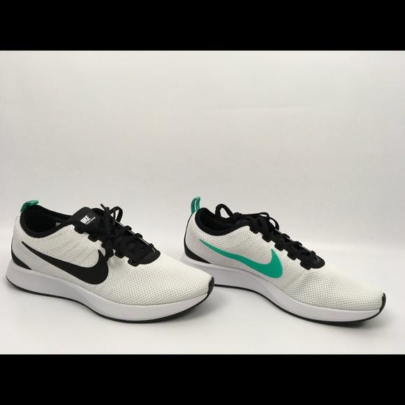 Nike Dualtone Racer White Black Platinum Run8.5